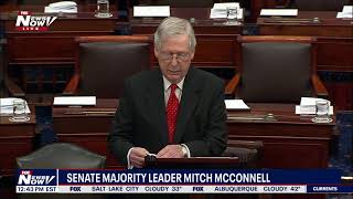 NOT FAIR: Mitch McConnell Says Democrats NOT Playing By The Rules for Trump Impeachment Trial