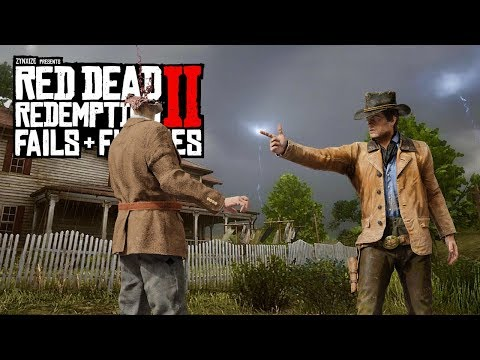 Red Dead Redemption 2 - Fails & Funnies #102