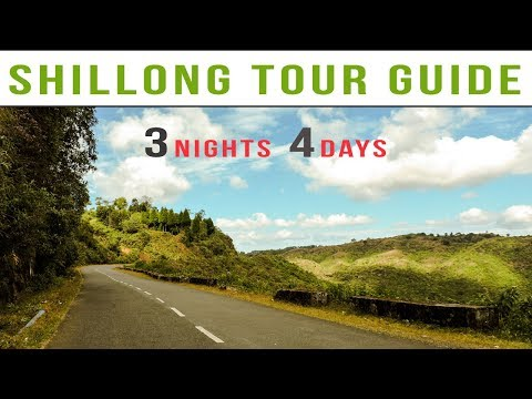 Shilllong Tour Plan | 3 Nights 4 Day Shillong Tour Package