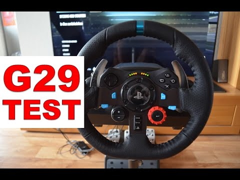 Logitech G29 Racing Lenkrad Driving Force / Racing Wheel (PS4, PS3, PC ) [TEST]  /// Wheel Stand Pro