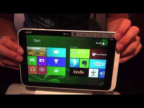 Acer Iconia Tab W3 Hands-on | english