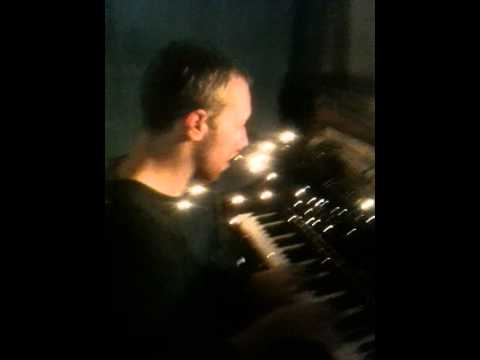 Chris plays Christmas Lights