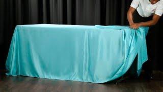 60 Second Drape Tie for Rectangular Tablecloths