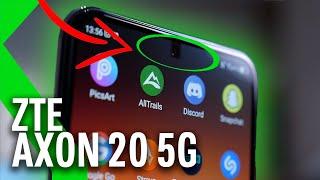 ZTE AXON 20 5G Análisis: UNA CÁMARA BAJO LA PANTALLA...y poco más