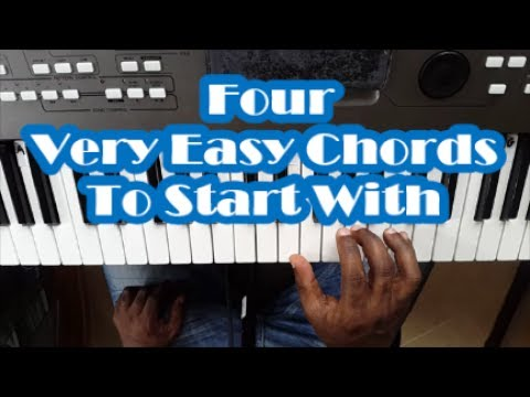 Piano Chords For Beginners Learn Four Chords To Play Hundreds Of Songs