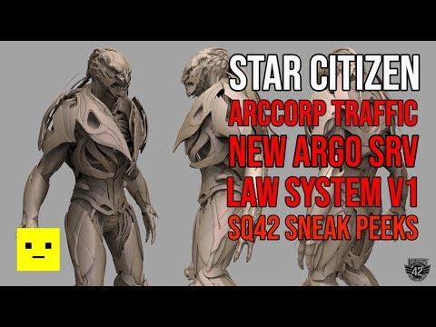 Star Citizen Weekly News | Sneak Peeks & Law System Returns