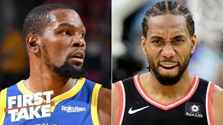 Kawhi is the more attractive free agent than Kevin Durant this summer - Max Kellerman | First Take