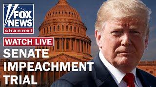 Trump defense continues arguments in Senate impeachment trial Day 6