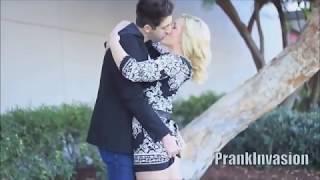 Top 5 Kissing Prank EXTREME   GONE SEXUAL   PrankInvasion Media 2018