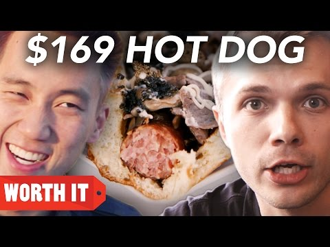 $2 Hot Dog Vs. $169 Hot Dog