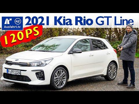 2021 Kia Rio 1 0 T GDI 120PS 48V iMT MHEV GT Line   Fahrbericht der Probefahrt  Test   Review