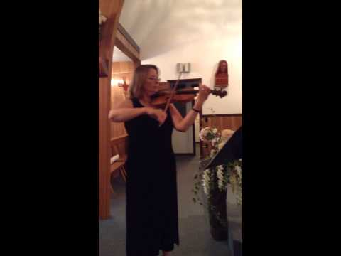 I love to play the violin at weddings