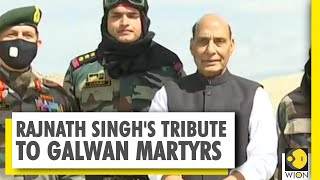 Rajnath Singh salutes Indian forces | No one will be allowed to touch Indian territory  IMAGES, GIF, ANIMATED GIF, WALLPAPER, STICKER FOR WHATSAPP & FACEBOOK