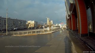 Наземный переход на станцию Балтийская Московского Центрального Кольца