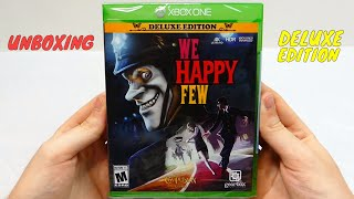 We Happy Few DELUXE EDITION - UNBOXING! (Xbox One)