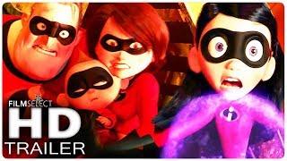 Mira aquí el trailer de LOS INCREÍBLES 2