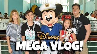 DISNEY VACATION MEGA VLOG! Creator Days Cruise Week Movie!