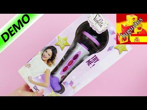 Micrófono de Violetta, de Smoby | UNBOXING