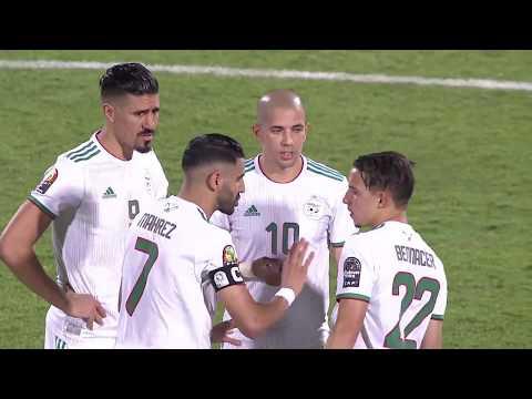 ملخص فوز الجزائر على كينيا بكأس الأمم الإفريقية