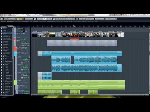 Cubase 7.5 – Advanced video tutorial – Track visibility management