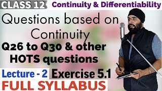 5(B) || NCERT Exercise 5.1 Continuity And Differentiability Class 12 Maths