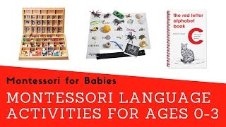 Montessori At Home: Language Activities For Ages 0-3