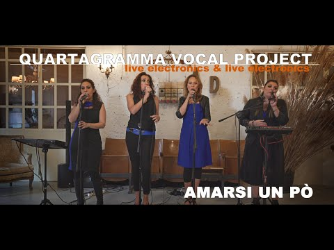 QUARTAGRAMMA VOCAL PROJECT vocal quartet&live electronics Firenze Musiqua