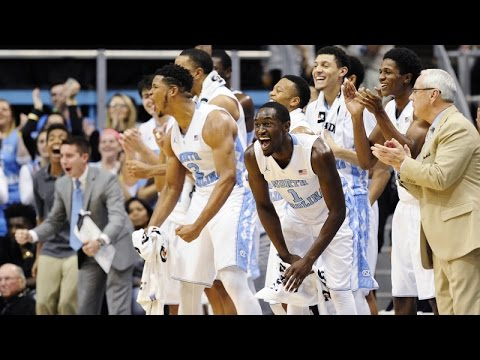 Video: Tar Heels Dominate Davidson, 98-65 - Highlights