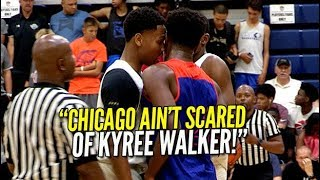 """CHICAGO AIN'T SCARED OF KYREE WALKER!"" Mac Irvin Fire Vs Dream Vision!"