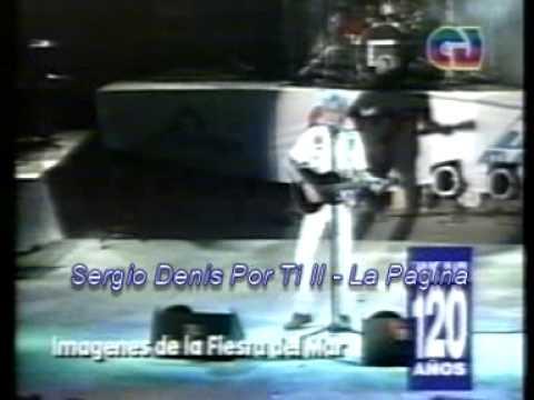 SERGIO DENIS - QUEREME - FIESTA DEL MAR 1994