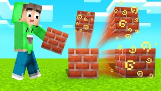 MINECRAFT But EVERY Block You PLACE MULTIPLIES! (Funny)