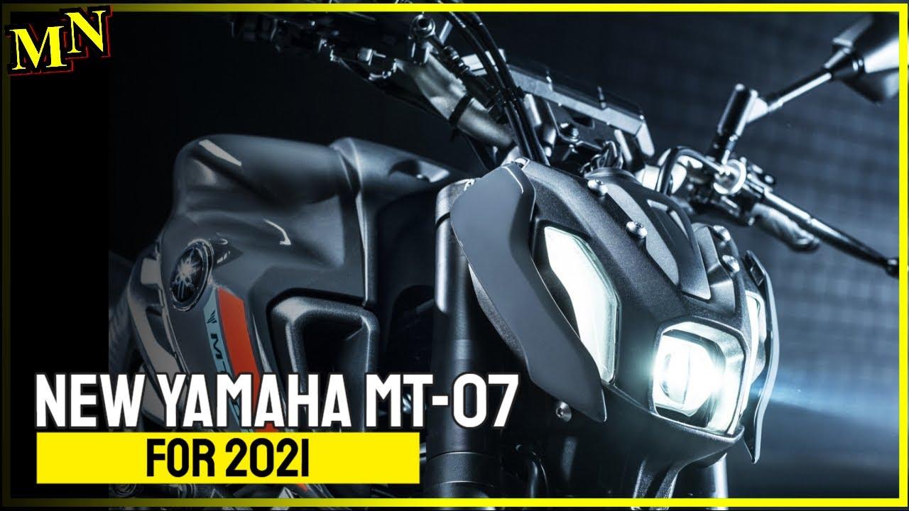 New Yamaha MT-07 (2021) presented