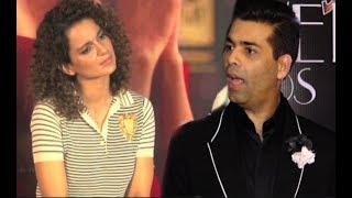 Karan Johar REACTION On Kangana Ranaut On Indias Next Superstar