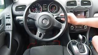 Сброс сервисного интервала ТО на VW Golf 6