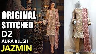 1eb3e950ce Jazmin Chiffon Collection 2018 - Stitched D2 Aura Blush Perle Deau - Maria  B Sara