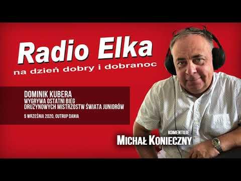 Wideo1: Dominik Kubera wiezie złoto DMŚ Juniorów - Radio Elka