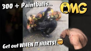 GET OUT WHEN IT HURTS // 300 + PAINTBALLS IN 4 SECONDS !! ?// CSP PAINTBALL