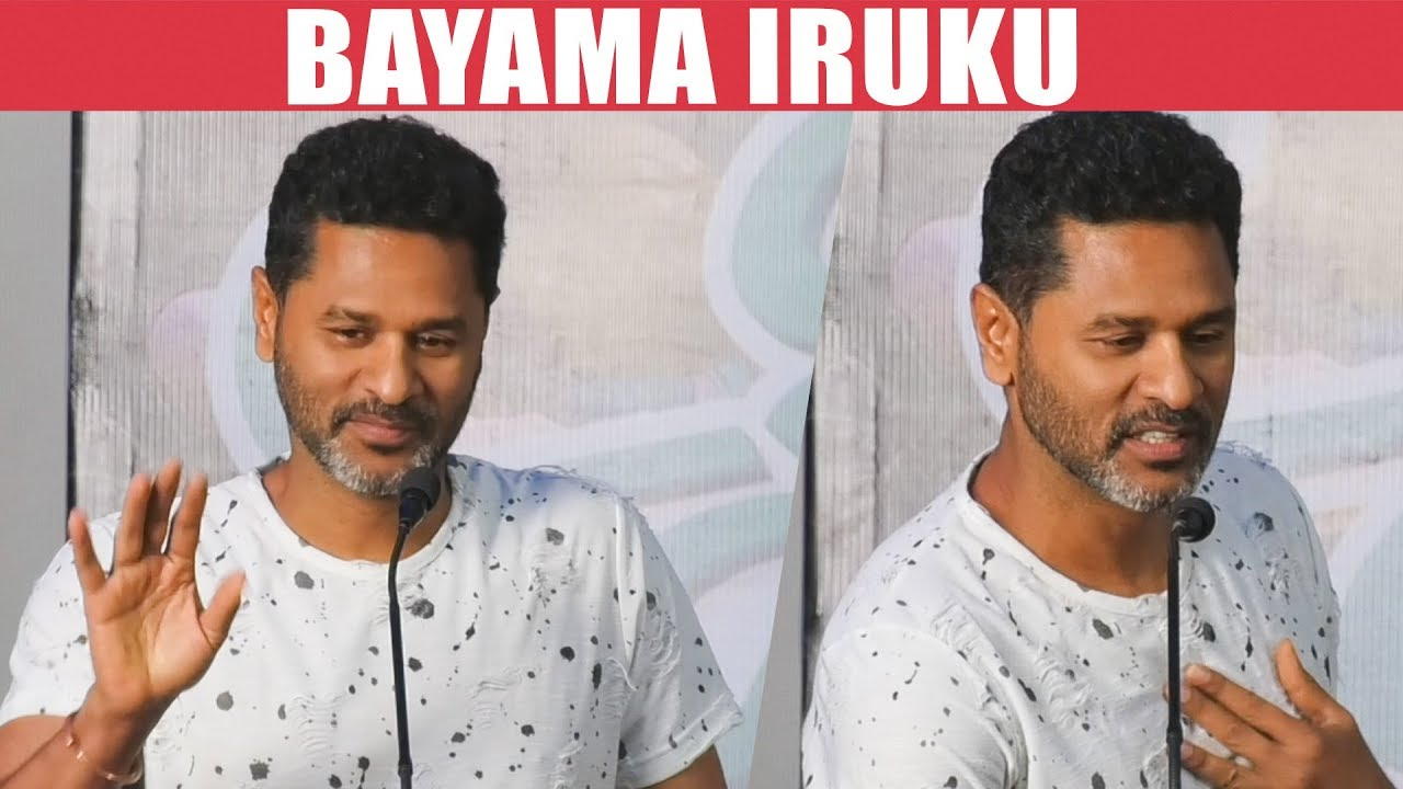 I am Scared of this... - Prabhu Deva