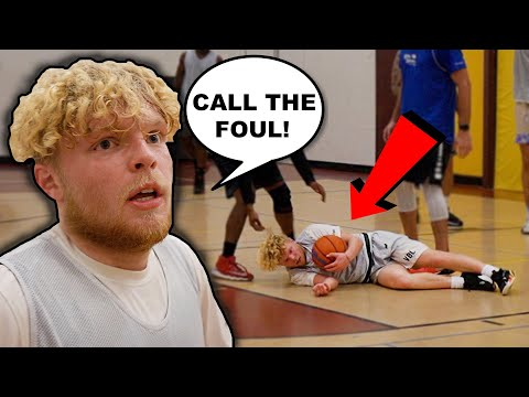 They HACKED ME & I Still Dropped 30! 5v5 Men's League Basketball!