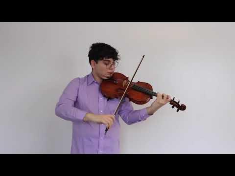 J.S. Bach: Cello Suite No. 3 Prelude (In Quarantine)