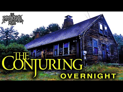 We Spent The Night In The Real Conjuring House Hunting For Ghosts