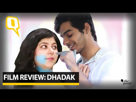 Download Film Review: 'Dhadak' fails to rise up to its original's might |The Quint Mp4 HD Video and MP3