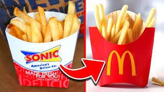 10 Fast Food French Fries Ranked WORST To BEST