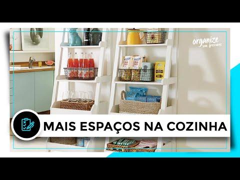 20 IDEIAS PRA VOCÊ ORGANIZAR E TER MAIS ESPAÇOS NA COZINHA