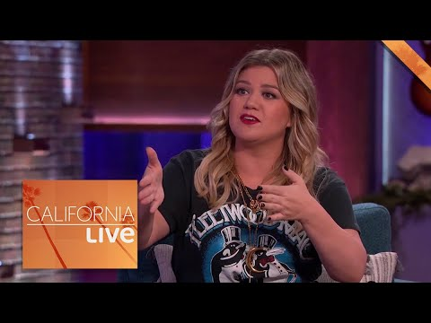 Kelly Clarkson's Hilarious Response to Quarantine Plus Season 2 Spoilers | California Live | NBCLA
