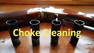 Shotgun Choke Cleaning Explained