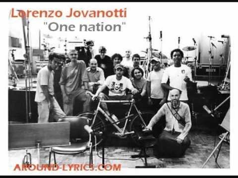 Jovanotti - One nation