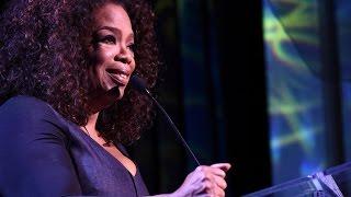 Oprah's Tearful Speech At Power Of Women