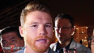 CANELO RESPONDS TO MAYWEATHER INSTAGRAM DISS