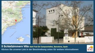 preview picture of video '5 Schlafzimmern Villa zu verkaufen in Sant Fost De Campsentelles, Barcelona, Spain'